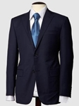 Hickey Freeman Tailored Clothing Sterling Collection Navy Suit N03F31323004 - Suits | Sam's Tailoring Fine Men's Clothing