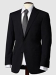 Hart Schaffner Marx Black Mini Stripe Suit 133766205068 - Suits | Sam's Tailoring Fine Men's Clothing