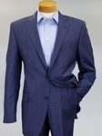 Robert Talbott Blue Pinstripe Monterey 2 Button Suit A46DMNSF-01 - Custom Suits and Sportcoats | Sam's Tailoring Fine Men's Clothing