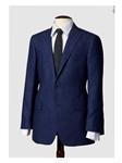 71e56ba6e93 Hart Schaffner Marx Blue Hopsack Sportcoat 736206204762 - Sportcoats