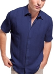 Pucked Up Short Sleeve Shirts Collection - Jhane Barnes | SamsTailoring | Fine Men's Clothing