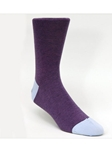 Purple Thin Stripe Ankle High Sock TA1102CP-01 - Robert Talbott Socks Footwear | Sam's Tailoring Fine Men's Clothing