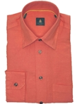 Robert Talbott Orange Trim Fit Linen Tencel Sport Shirt TUM13008-01 - View All Shirts | Sam's Tailoring Fine Men's Clothing