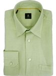 Robert Talbott Green Trim Fit Linen Tencel Sport Shirt TUM13006-01 - View All Shirts | Sam's Tailoring Fine Men's Clothing