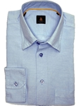 Robert Talbott Sky Trim Fit Linen Tencel Sport Shirt TUM13003-01 - View All Shirts | Sam's Tailoring Fine Men's Clothing
