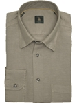 Robert Talbott Trim Grey Trim Fit Linen Tencel Sport Shirt TUM13002-01 - View All Shirts | Sam's Tailoring Fine Men's Clothing