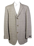 Grey Windowpane Sportcoat
