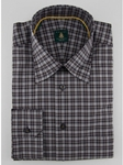 Robert Talbott Navy Check RT Sport Trim Fit TUM33072-01 - View All Shirts | Sam's Tailoring Fine Men's Clothing