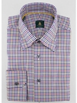 Robert Talbott Gold Check RT Sport Trim Fit TUM33060-01 - View All Shirts | Sam's Tailoring Fine Men's Clothing