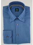 Robert Talbott Turquoise Check RT Sport Trim Fit TUM33019-01 - View All Shirts | Sam's Tailoring Fine Men's Clothing