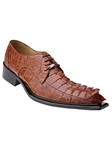 Belvedere Antique Cognac ZENO Genuine Hornback Leather Shoes 3400 - Fall 2015 Collection Shoes | Sam's Tailoring Fine Men's Clothing