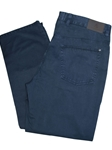 Robert Talbott Navy 5 Pocket Ventana Pants JPT11-08-Navy - Pants | Sam's Tailoring Fine Men's Clothing