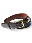 M-Clip Alligator Belts - Dark Brown Alligator Belt BT-BRN-GATR - Exotic Belts and Wallets | Sam's Tailoring Fine Men's Clothing