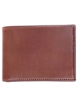 M-Clip Wallets - Brown Bridle Leather Wallet WT-BRN-LTHR - Exotic Belts and Wallets | Sam's Tailoring Fine Men's Clothing