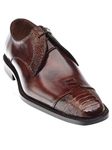 Belvedere Camel Antique Almond Antique Pisa Genuine Ostrich and Italian Calf Leather Shoes 4E1 - Fall 2015 Collection Shoes | Sam's Tailoring Fine Men's Clothing