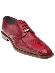 Belvedere Red Topo Genuine Hornback and Lizard Leather Shoes 1480 - Fall 2015 Collection Shoes | Sam's Tailoring Fine Men's Clothing