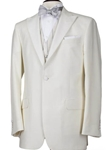 Robert Talbott White Monterey One-Button Tuxedo Jacket S415MNJ0-01 - Spring 2015 Collection Suits and Sport Coats - Custom and Ready-Made | Sam's Tailoring Fine Men's Clothing