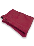 Robert Talbott Red 5-Pocket Ventana II Jean Pant JPT17-05 - Pants or Trousers | Sam's Tailoring Fine Men's Clothing