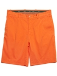 Bobby Jones Orange Stretch Cotton Flat Front Short BJI37401 - Fall 2014 Collection Shorts | Sam's Tailoring Fine Men's Clothing