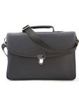 Espresso Leather Briefcase F3LUG008-01 - Robert Talbott Bags | Sam's Tailoring Fine Men's Clothing