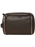 Espresso Leather Roll Up Kit F3LUG002-01 - Robert Talbott Bags | Sam's Tailoring Fine Men's Clothing