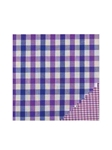 Paul Betenly Pink/Blue Check Classic 100 Percent Cotton Shirt 5RF030 - Spring 2015 Collection Dress Shirts | Sam's Tailoring Fine Men's Clothing
