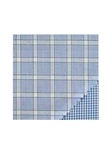 Paul Betenly Light Blue Windowpane Check Classic 100 Percent Cotton Shirt 5RF031 - Spring 2015 Collection Dress Shirts | Sam's Tailoring Fine Men's Clothing