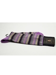 Lilac Stripes Wool Sock SAMSUITGALLERY-12 - Robert Talbott Socks Footwear | Sam's Tailoring Fine Men's Clothing