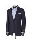 df450f77a4b Hickey Freeman Luxury Navy Cashmere Sport Coat 45508003B004 - Fall 2014  Collection Sport Coats and Blazers