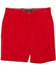 Bobby Jones Cambridge Red Stretch Cotton Flat Front Short BJI37401 - Fall 2014 Collection Shorts | Sam's Tailoring Fine Men's Clothing
