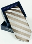 Ted Baker Brown Stripes Silk Tie SAMSTAILOR-5304 - Fall 2014 Collection Ties | Sam's Tailoring Fine Men's Clothing