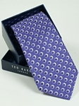 Ted Baker Medium Purple with Orbs Pattern Tie SAMSTAILOR-5306 - Fall 2014 Collection Ties | Sam's Tailoring Fine Men's Clothing