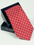 Ted Baker Red with Orbs Pattern Tie SAMSTAILOR-5307 - Fall 2014 Collection Ties | Sam's Tailoring Fine Men's Clothing