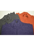 Robert Talbott Cooper ¼ Zip Sweater LS678 - Fall 2014 Collection Sweaters and Polo | Sam's Tailoring Fine Men's Clothing