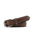 Bill Lavin Toffee Italian Exotic Eel Skin Embossed Belt 3-17133 - Soft Collection Belts | Sam's Tailoring Fine Men's Clothing