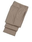 Hickey Freeman Tan Traveler Wool Pleated Trousers 45600510PB077 - Spring 2015 Collection Trousers | Sam's Tailoring Fine Men's Clothing