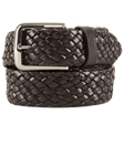 Brown Braided Genuine Calf Leather Belt BL124-01 - Robert Talbott Belts and Straps | Sam's Tailoring Fine Men's Clothing