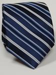 Robert Talbott Green /& Navy Stripes Yankee Point Best Of Class Tie