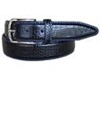 Lejon Black Anzio Dress Belt 15681 - Spring 2015 Collection Leather Belts | Sam's Tailoring Fine Men's Clothing
