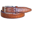 Lejon Tan Anzio Dress Belt 15681 - Spring 2015 Collection Leather Belts | Sam's Tailoring Fine Men's Clothing