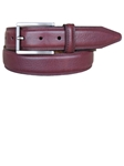 Lejon Merlot Dignitary 35mm Dress Belt 13131 - Spring 2015 Collection Leather Belts | Sam's Tailoring Fine Men's Clothing