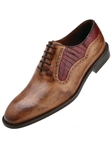 Belvedere Antique Maple Duccio Alligator and Italian Calf Leather Shoes D47 - Fall 2015 Collection | Sam's Tailoring Fine Men's Clothing