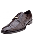 Belvedere Brown Marcello Genuine Crocodile Lace Up Toe Shoes 1493 - Fall 2015 Collection Shoes | Sam's Tailoring Fine Men's Clothing
