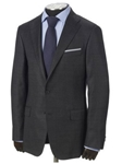 Hickey Freeman Grey Plaid Cashmere Suit 55306402H003 - Fall 2015 Collection Suits | Sam's Tailoring Fine Men's Clothing