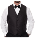 Robert Talbott Black Formal Wear Protocol Vest 464894T-01 - Formal Wear | Sam's Tailoring Fine Men's Clothing