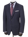 Hickey Freeman Navy Stripe Super 170s Wish Suit 55302514B003 - Suits | Sam's Tailoring Fine Men's Clothing