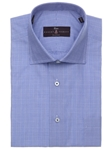 Robert Talbott Blue Plaid Check Classic Fit Estate Sutter Dress Shirt F315IB3U-71 - Spring 2016 Collection Dress Shirts | Sam's Tailoring Fine Men's Clothing