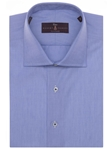 Robert Talbott French Blue Poplin Tailored Fit Estate Sutter Dress Shirt ETN16001-01 - Spring 2016 Collection Dress Shirts | Sam's Tailoring Fine Men's Clothing
