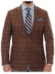 Robert Talbott Nutmeg with Windowpane Check Classic Fit Carmel Sport Coat S609CRJ0-01 - Spring 2016 Collection Suits and Sport Coats - Custom and Ready-Made | Sam's Tailoring Fine Men's Clothing