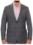 Robert Talbott Indigo with Windowpane Check Classic Fit Carmel Sport Coat S604CRJ0-01 - Spring 2016 Collection Suits and Sport Coats - Custom and Ready-Made | Sam's Tailoring Fine Men's Clothing